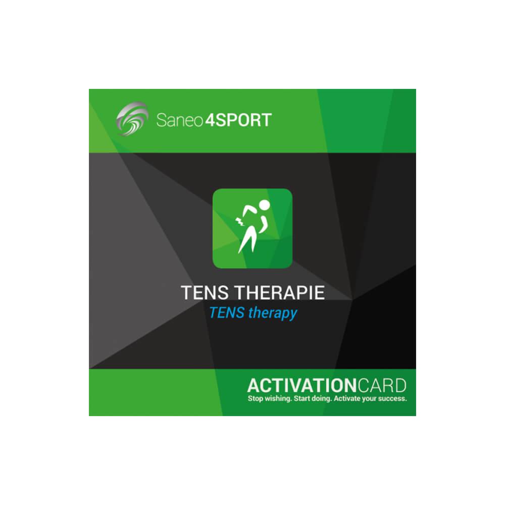 TENS Therapie Programmpaket Aktivierungskarte