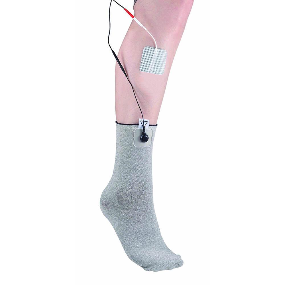 Stimulationssocke, Textilelektrode