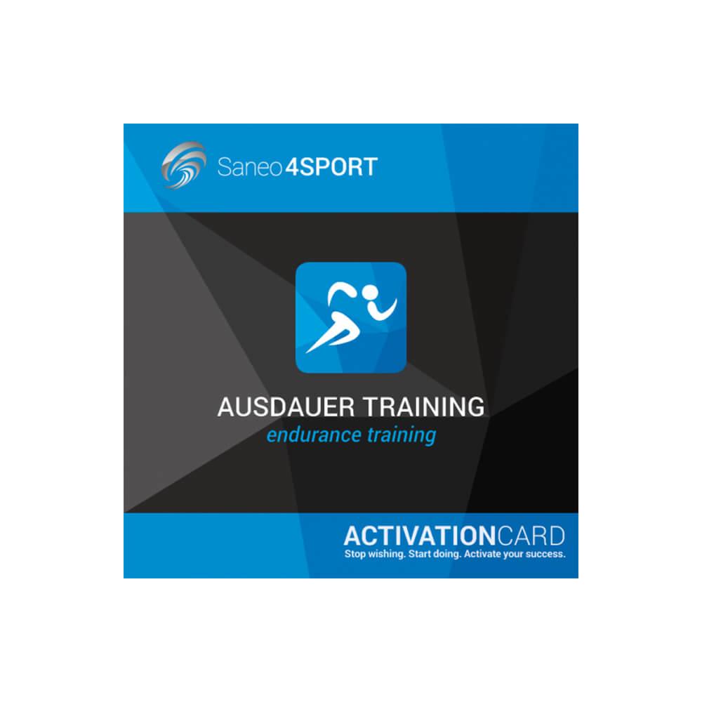 Ausdauertraining Programmpaket Aktivierungskarte