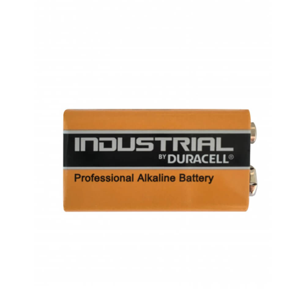 9V Blockbatterie liegend