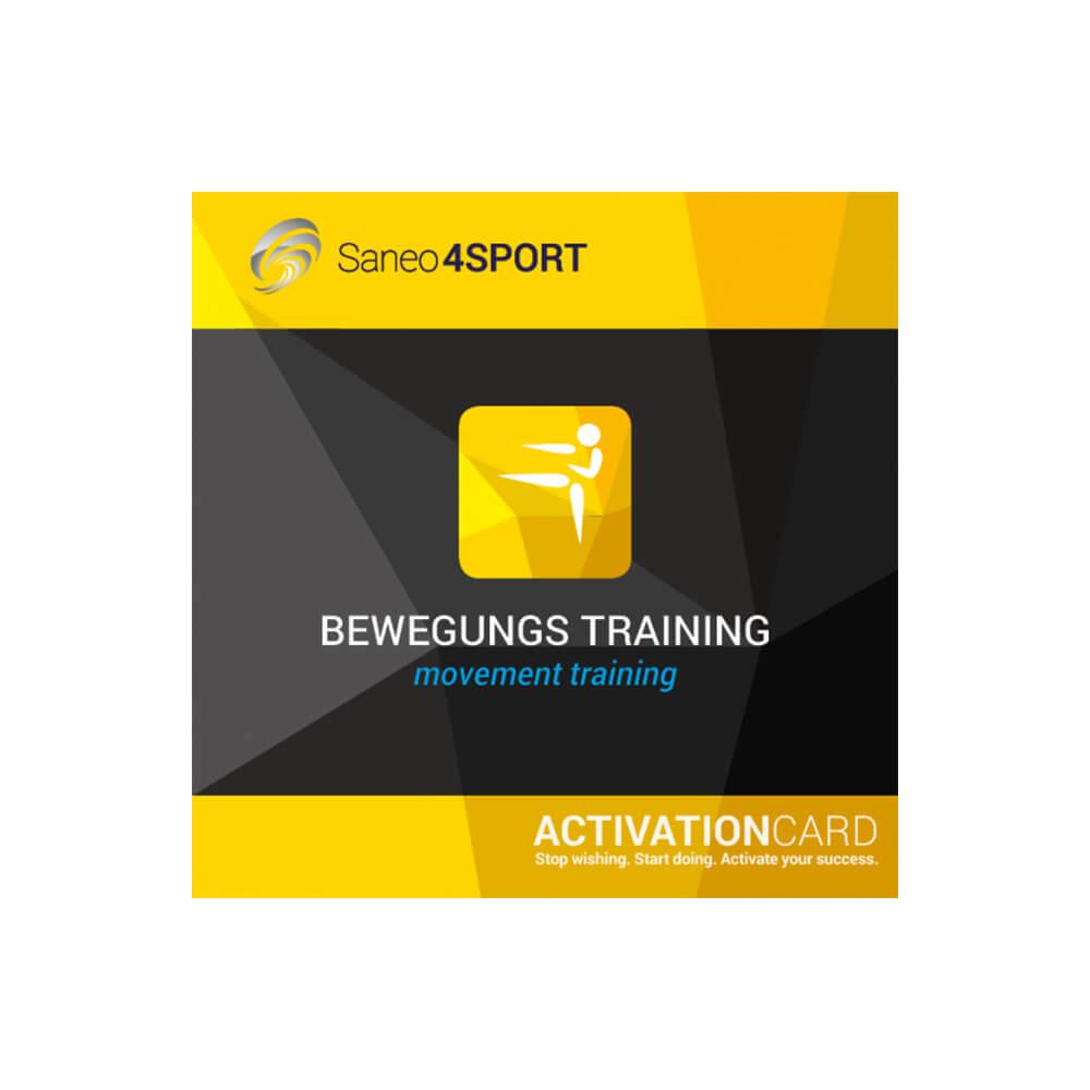 Bewegungstraining Programmpaket Aktivierungskarte