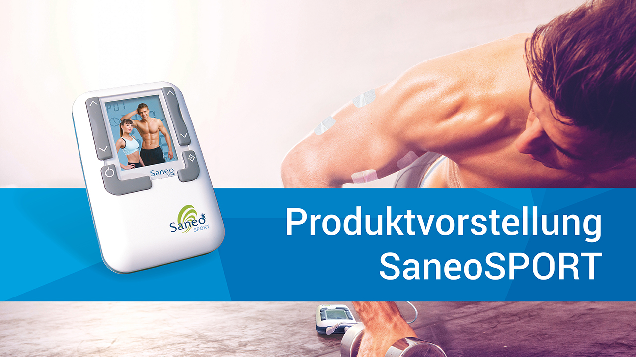 SaneoSPORT - EMS/TENS Muskeltraining