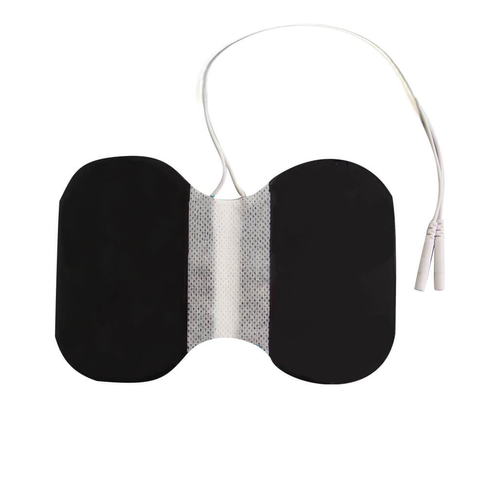 Butterfly-Elektrode von unten, Nackenelektrode
