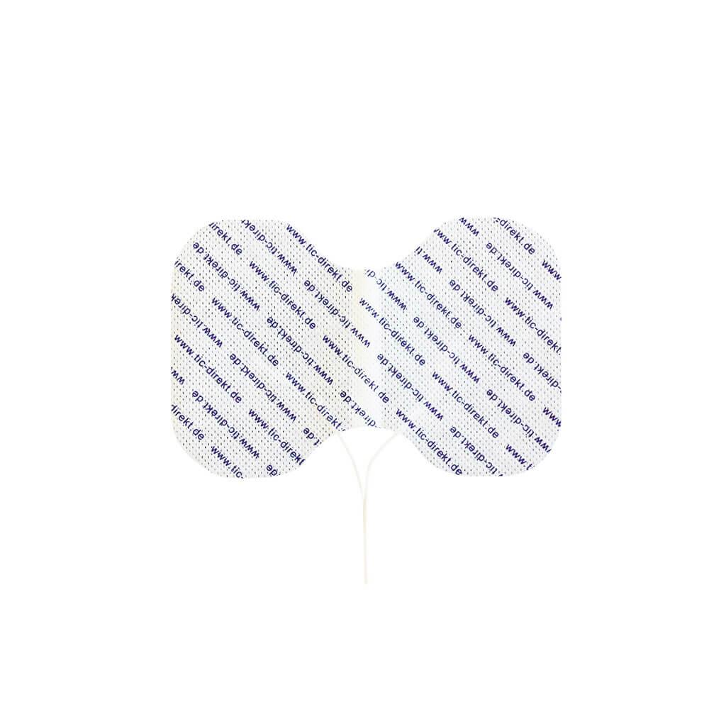 Butterfly-Elektrode von oben, Nackenelektrode