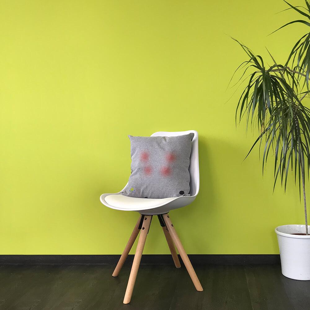 saneocomfort auf stuhl
